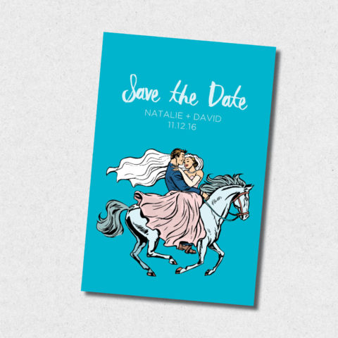 happily ever after save the date